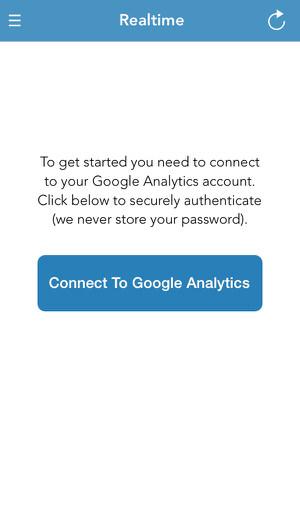 iPhone[Realtime] Googleアナリティクスのリアルタイムを確認