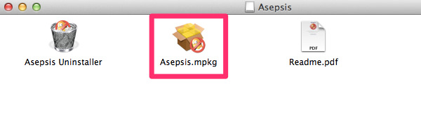 Mac[Asepsis] 不可視ファイルを表示させると現れる.DS_Storeを見えなくする方法