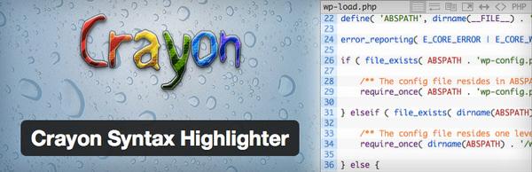 WordPress[Crayon Syntax Highlighter] ブログにソースコードを綺麗に表示